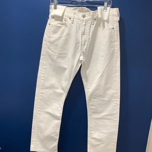 LEVI'S  STRAUSS & CO. 513 White White Discontinued